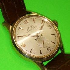 Relojes automáticos: MIDO AUTOMATICO. 1.954/60. AUTENTICO. (P.ORO 50 MICRONES) FUNCIONANDO. 33 MM. S/C. FOTOS EN DESCRIP.. Lote 128871327