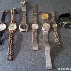 Relojes automáticos: LOTE 8 RELOJES VARIAS MARCAS LOTUS GIORGIE VALEITIAN SWATCH DELAN ORIENT. Lote 195780741