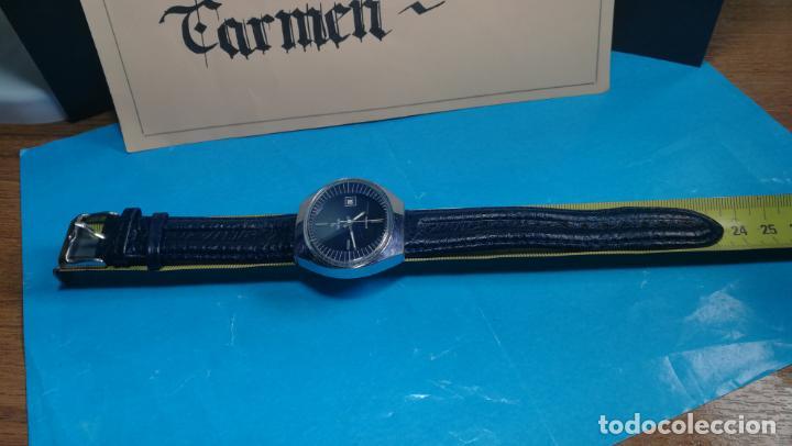 Relojes automáticos: Botito reloj Yema antiguo automático, funciona bien, grande - Foto 2 - 140285570