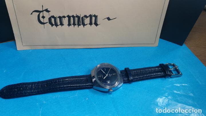 Relojes automáticos: Botito reloj Yema antiguo automático, funciona bien, grande - Foto 3 - 140285570