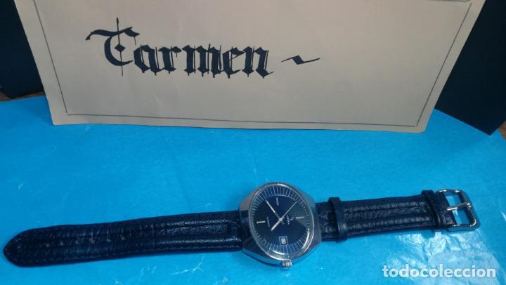 Relojes automáticos: Botito reloj Yema antiguo automático, funciona bien, grande - Foto 4 - 140285570