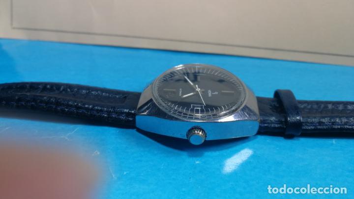Relojes automáticos: Botito reloj Yema antiguo automático, funciona bien, grande - Foto 11 - 140285570