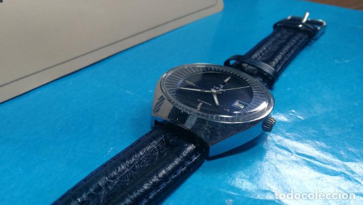 Relojes automáticos: Botito reloj Yema antiguo automático, funciona bien, grande - Foto 14 - 140285570