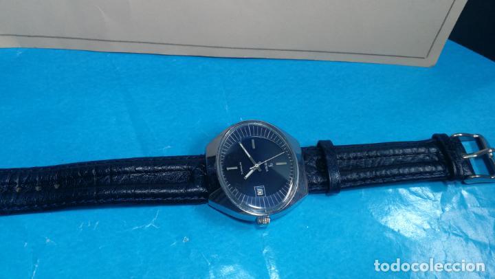 Relojes automáticos: Botito reloj Yema antiguo automático, funciona bien, grande - Foto 18 - 140285570