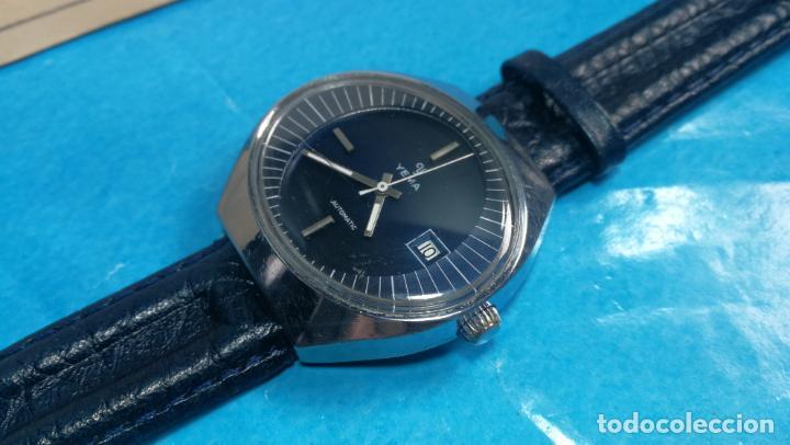Relojes automáticos: Botito reloj Yema antiguo automático, funciona bien, grande - Foto 19 - 140285570