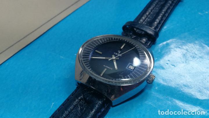 Relojes automáticos: Botito reloj Yema antiguo automático, funciona bien, grande - Foto 20 - 140285570
