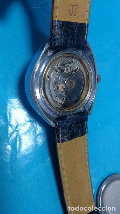 Relojes automáticos: Botito reloj Yema antiguo automático, funciona bien, grande - Foto 21 - 140285570
