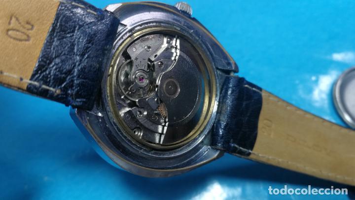 Relojes automáticos: Botito reloj Yema antiguo automático, funciona bien, grande - Foto 22 - 140285570