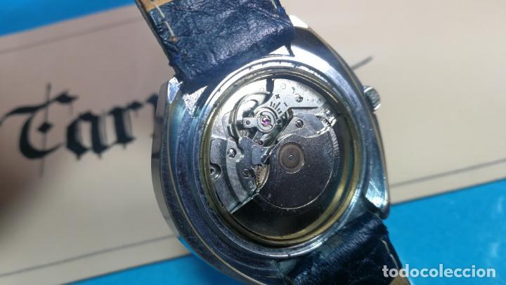 Relojes automáticos: Botito reloj Yema antiguo automático, funciona bien, grande - Foto 23 - 140285570