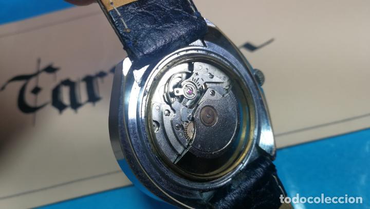 Relojes automáticos: Botito reloj Yema antiguo automático, funciona bien, grande - Foto 24 - 140285570