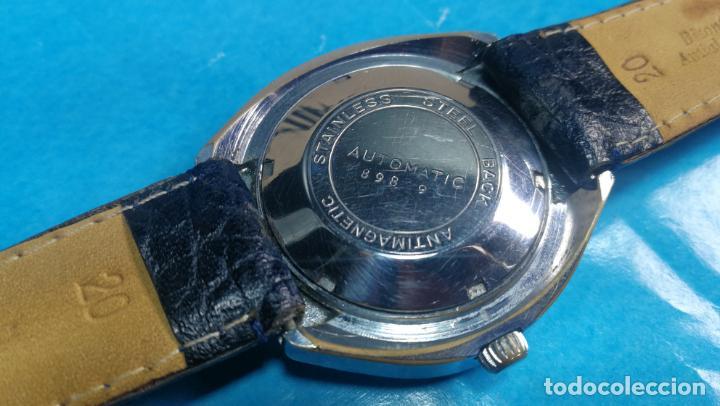 Relojes automáticos: Botito reloj Yema antiguo automático, funciona bien, grande - Foto 26 - 140285570