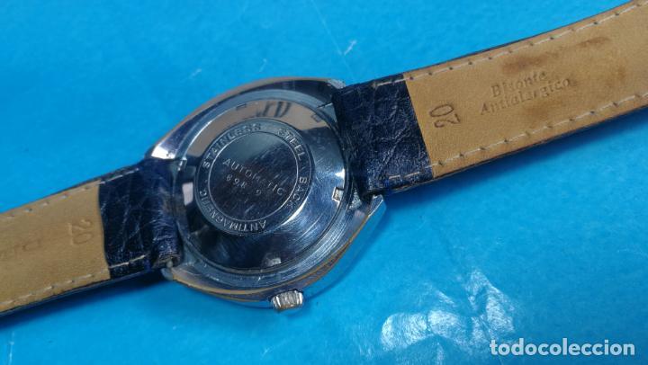 Relojes automáticos: Botito reloj Yema antiguo automático, funciona bien, grande - Foto 28 - 140285570
