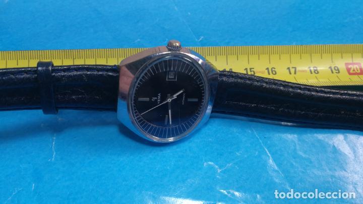 Relojes automáticos: Botito reloj Yema antiguo automático, funciona bien, grande - Foto 30 - 140285570