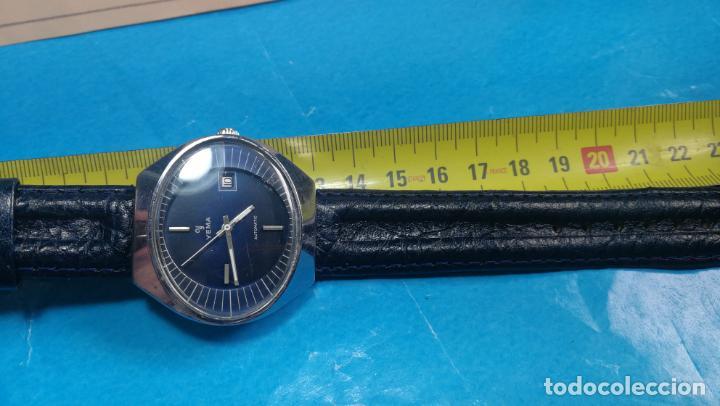 Relojes automáticos: Botito reloj Yema antiguo automático, funciona bien, grande - Foto 31 - 140285570