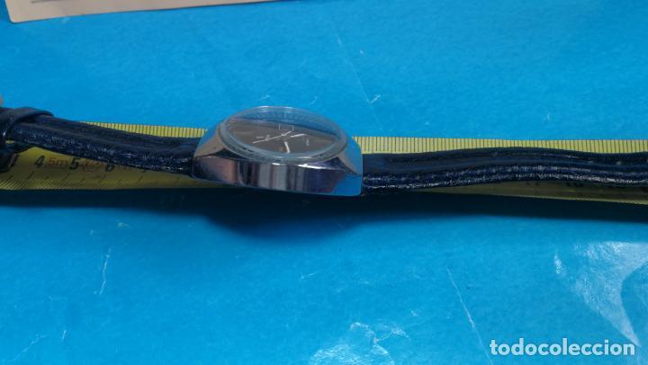 Relojes automáticos: Botito reloj Yema antiguo automático, funciona bien, grande - Foto 32 - 140285570