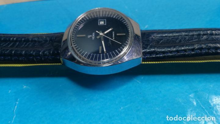 Relojes automáticos: Botito reloj Yema antiguo automático, funciona bien, grande - Foto 36 - 140285570
