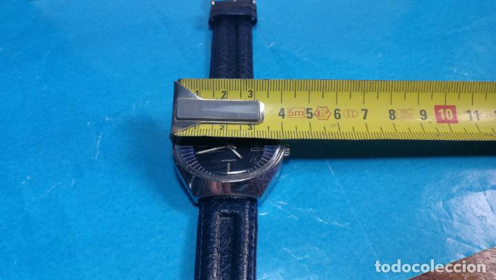 Relojes automáticos: Botito reloj Yema antiguo automático, funciona bien, grande - Foto 39 - 140285570