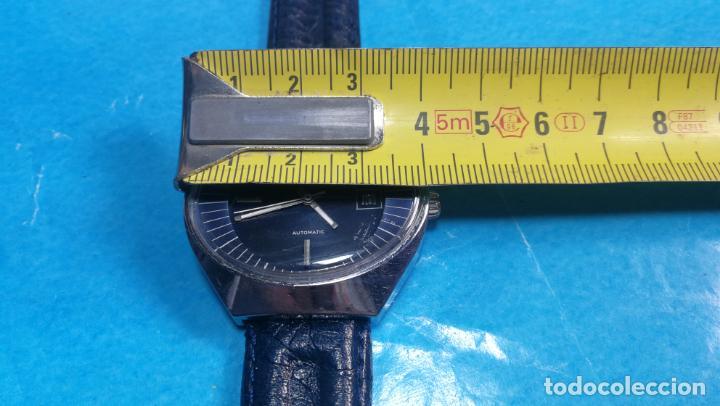 Relojes automáticos: Botito reloj Yema antiguo automático, funciona bien, grande - Foto 40 - 140285570