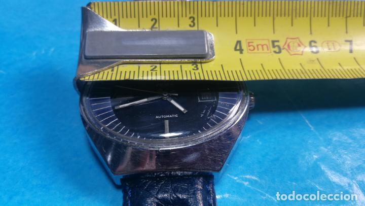 Relojes automáticos: Botito reloj Yema antiguo automático, funciona bien, grande - Foto 41 - 140285570