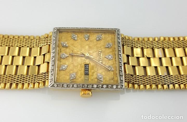 Relojes automáticos: PIAGET ORO 18Kt.-DIAMANTES EN ESFERA Y BISEL. - Foto 2 - 46870886