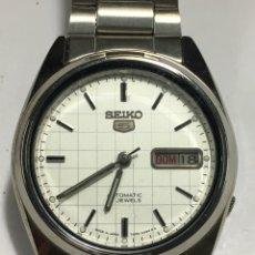 Relojes automáticos: RELOJ SEIKO N5 AUTOMÁTICO ESPERA DAMERO ESPECIAL DOBLE DIAL NUEVO 7009-3040. Lote 147025596