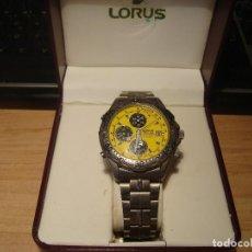 Relojes automáticos: RELOJ LORUS TITANIUM CHRONOGRAPH.. Lote 140856070