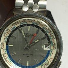 Relojes automáticos: RELOJ SEIKO AUTOMÁTICO WORD TIME 6117-6010 PARA COLECCIONISTAS EN FUNCIONAMIENTO PARA COLECCIONISTAS. Lote 140860968