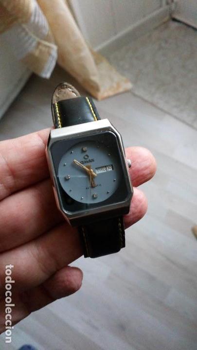 Relojes automáticos: BONITO RELOJ VINTAGE OMAX SUIZO AUTOMATICO - Foto 3 - 140889562