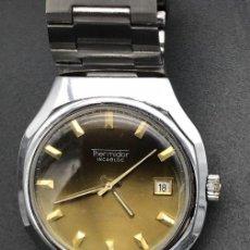 Relojes automáticos: RELOJ AUTOMÁTICO THERMIDOR INCABLOC, AÑOS 70. Lote 141103514