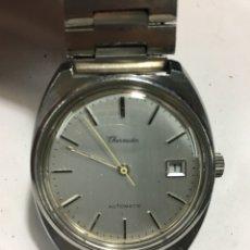 Relojes automáticos: RELOJ THERMIDOR AUTOMÁTICO EN ACERO COMPLETO COMO NUEVO REPASADO. Lote 143281556