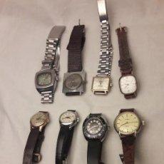 Relojes automáticos: ESPECTACULAR LOTE DE 8 ANTIGUOS RELOJES AUTOMÁTICOS. Lote 141852330