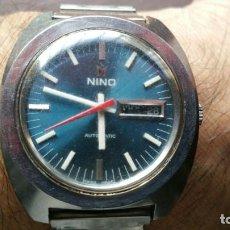 Relojes automáticos: RELOJ AUTOMATICO NINO EN ACERO. Lote 142502918