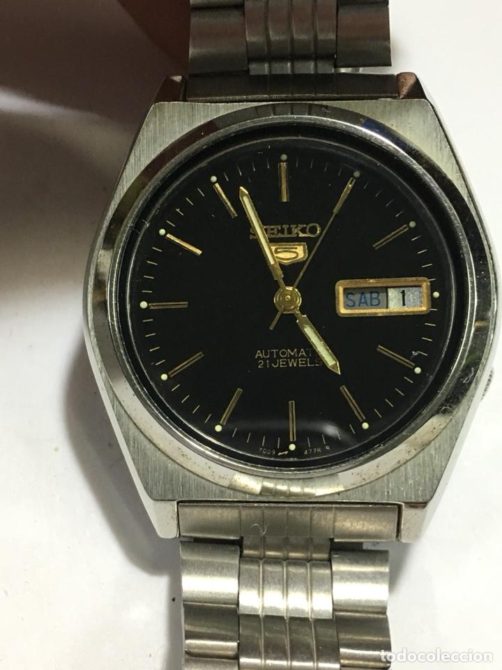 RELOJ SEIKO N5 AUTOMÁTICO EN ACERO COMPLETO NUEVO SIN USO 7009-876A (Relojes - Relojes Automáticos)