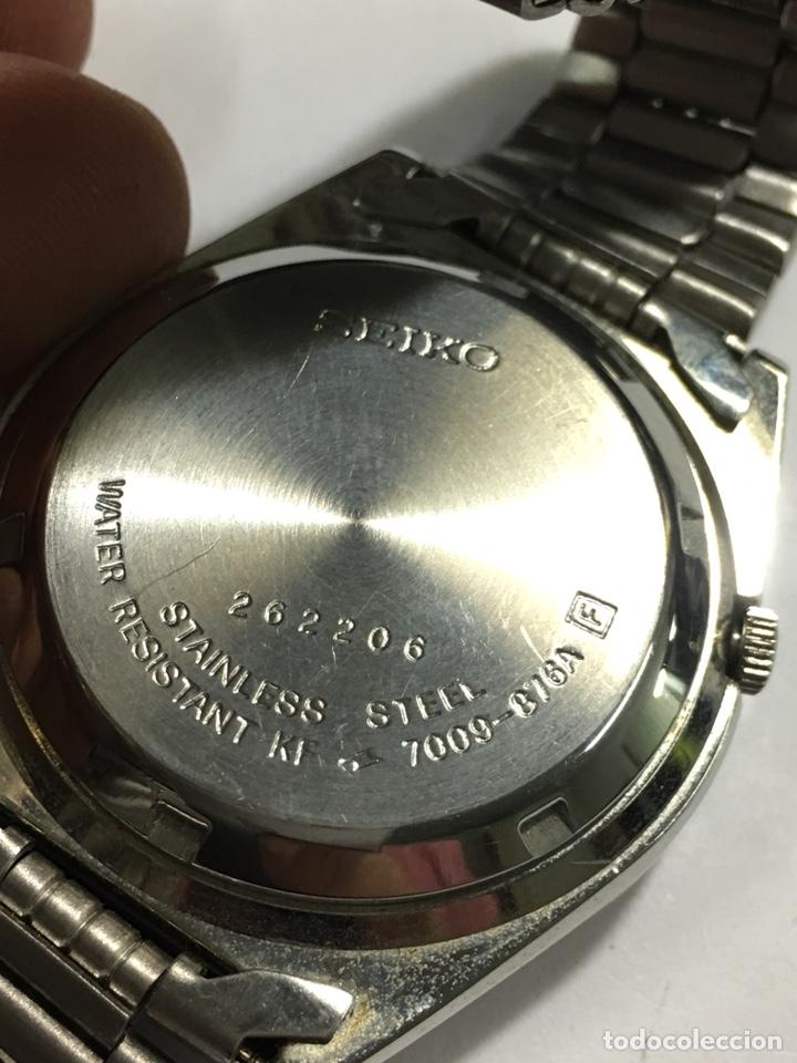 Relojes automáticos: Reloj Seiko N5 automático en acero completo nuevo sin uso 7009-876A - Foto 5 - 142599205