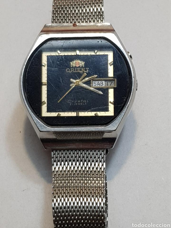 bd9705836d2d Reloj orient antiguo vintage automatico muy raro - España - Antiguo reloj  orient crystal 21 jewels