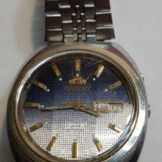 Relojes automáticos: RELOJ ANTIGUO ORIENT 21 JEWELS FUNCIONANDO. Lote 142785518
