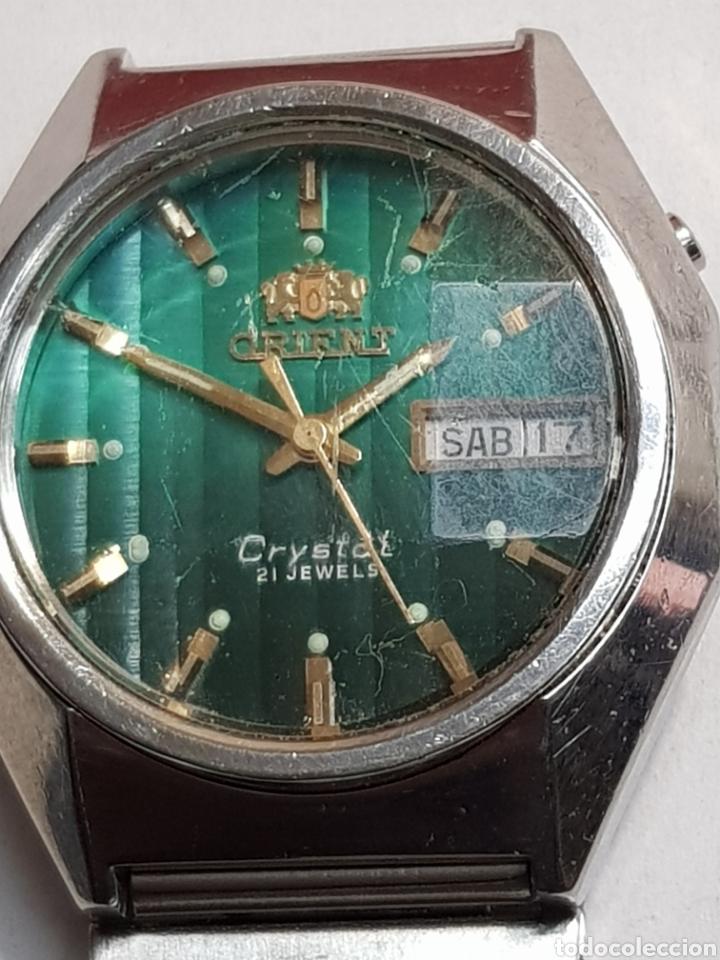 2ce761dbc1bb Reloj orient antiguo crystal 21 jewels funcionando - España - Antiguo reloj  orient crystal 21 jewels