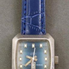 Relojes automáticos: RELOJ AUTOMÁTICO VANROY AUTOMATIC INCABLOC SWISS MADE FUNCIONA. Lote 143163494