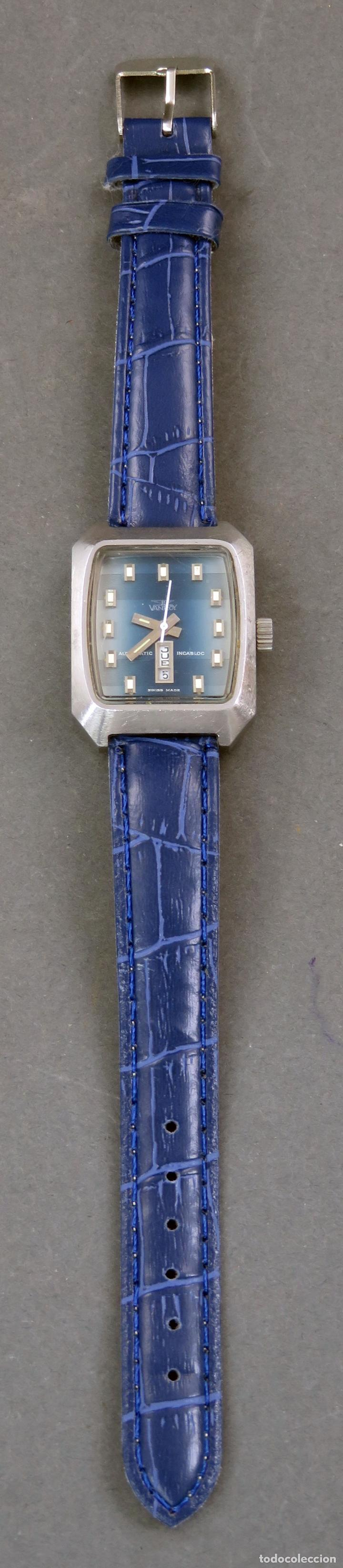 Relojes automáticos: Reloj automático Vanroy Automatic Incabloc Swiss Made Funciona - Foto 2 - 143163494