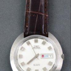 Relojes automáticos: RELOJ AUTOMÁTICO VANROY AUTOMATIC INCABLOC 25 RUBIS SWISS MADE FUNCIONA. Lote 143163602