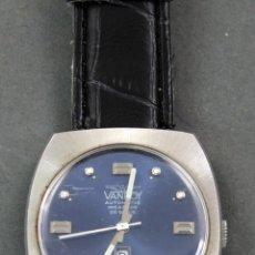 Relojes automáticos: RELOJ AUTOMÁTICO VANROY AUTOMATIC INCABLOC 25 RUBIS SWISS MADE FUNCIONA. Lote 143163694
