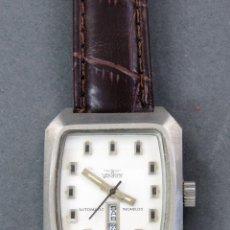 Relojes automáticos: RELOJ AUTOMÁTICO VANROY AUTOMATIC INCABLOC SWISS MADE FUNCIONA. Lote 143164014