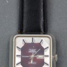 Relojes automáticos: RELOJ AUTOMÁTICO VANROY AUTOMATIC 25 JEWELS SHARK SWISS MADE FUNCIONA. Lote 143164650