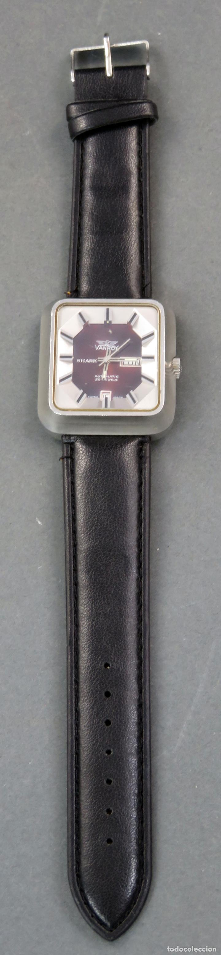 Relojes automáticos: Reloj automático Vanroy Automatic 25 jewels Shark Swiss Made Funciona - Foto 2 - 143164650