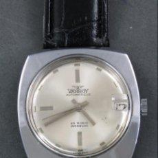 Relojes automáticos: RELOJ AUTOMÁTICO VANROY AUTOMATIQUE 25 RUBIS INCABLOC SWISS MADE FUNCIONA. Lote 143165226