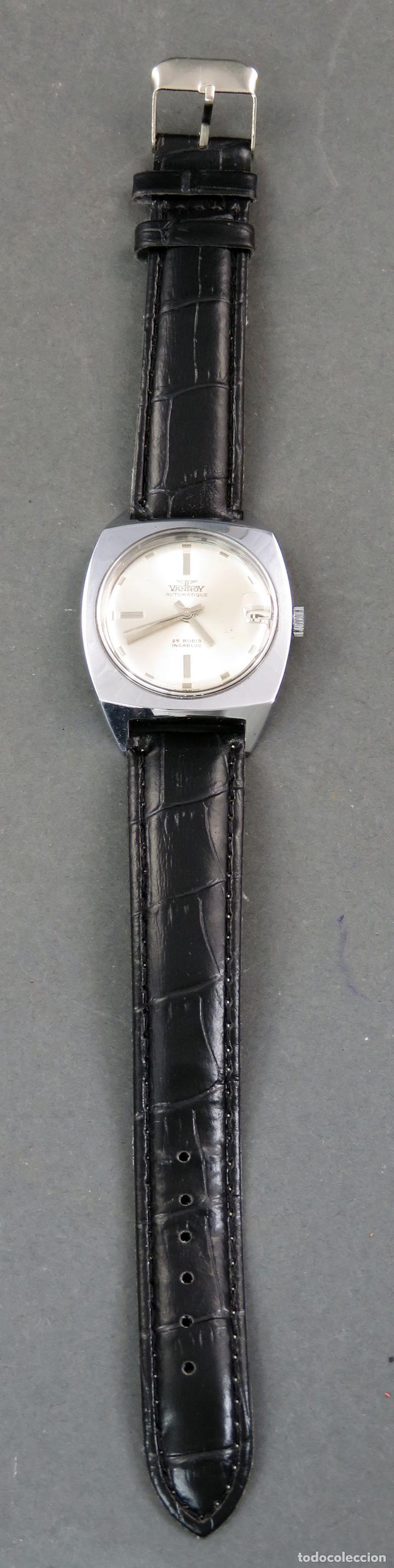 Relojes automáticos: Reloj automático Vanroy Automatique 25 rubis Incabloc Swiss Made Funciona - Foto 2 - 143165226