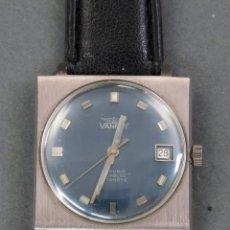 Relojes automáticos: RELOJ AUTOMÁTICO VANROY AUTOMATIC INCABLOC 25 RUBIS INCABLOC SWISS MADE FUNCIONA. Lote 143165674