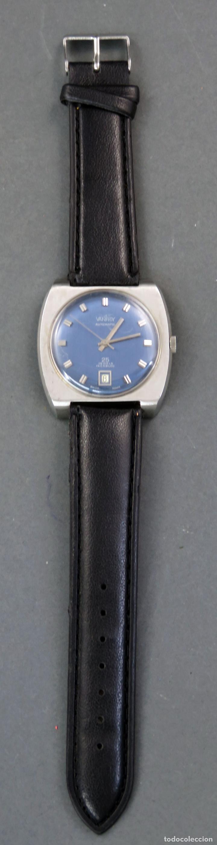 Relojes automáticos: Reloj automático Vanroy Automatic 25 jewels Incabloc Swiss Made Funciona - Foto 2 - 143166402