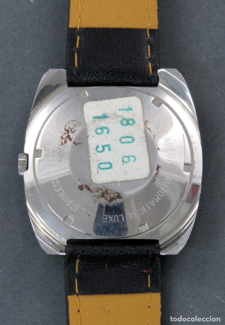 Relojes automáticos: Reloj automático Vanroy Automatic 25 jewels Incabloc Swiss Made Funciona - Foto 3 - 143166402