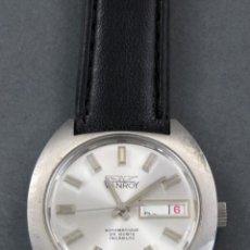 Relojes automáticos: RELOJ AUTOMÁTICO VANROY AUTOMATIQUE 25 RUBIS INCABLOC SWISS MADE FUNCIONA. Lote 143166606